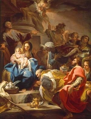 Corrado Giaquinto - The Adoration of the Magi
