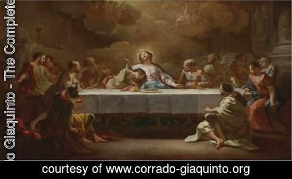 Corrado Giaquinto - The Last Supper