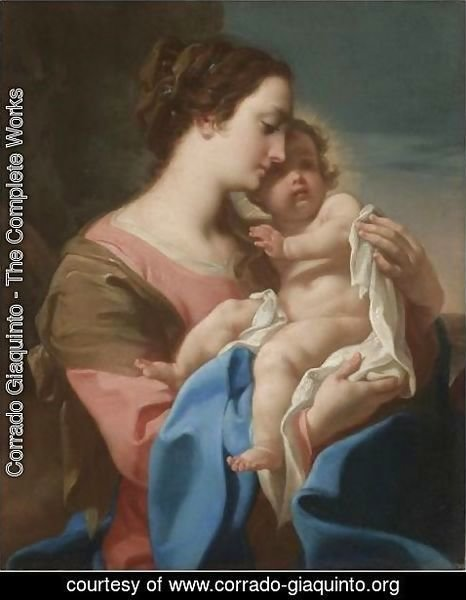 Corrado Giaquinto - The Madonna And Child