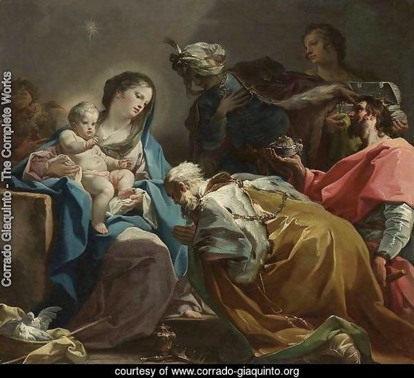 Adoration of the Magi c. 1725