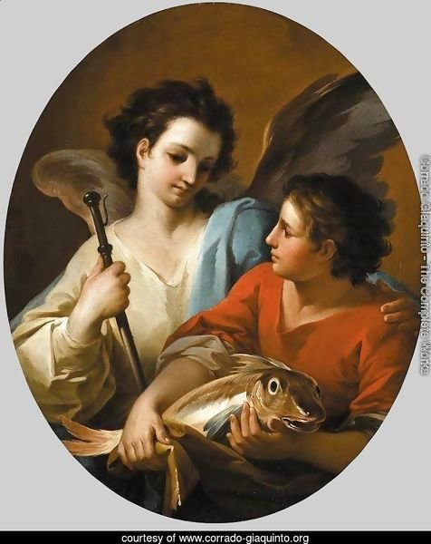 Tobias and the Angel c. 1740