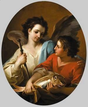 Corrado Giaquinto - Tobias and the Angel c. 1740